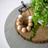 Belongil Beech Wood & Silicone Necklace