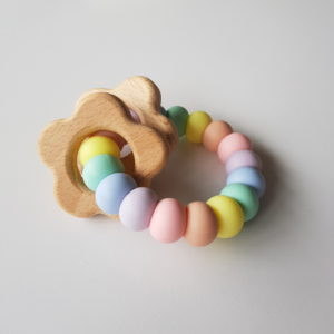 Daisy Rattle Teether