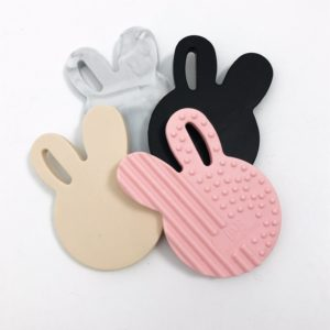 ONE.CHEW.THREE Bunny + Bear Teethers