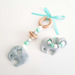 Elephant Teether Gift Pack