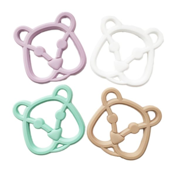 Logan & Alice Bear Teether