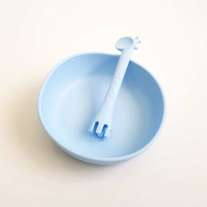 Blue Bowl & Utensil