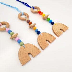 Rainbow Pram Toy
