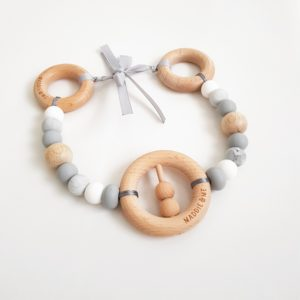 Rattle Ring Pram Garland