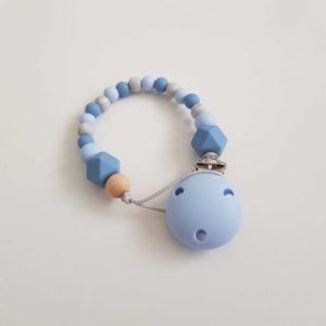 Powder & Pastel Blue Dummy Clip