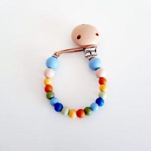 Earthy Rainbow Dummy Clip