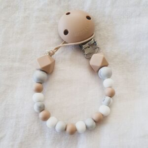 Hex Marble Mix Dummy Chain - Oatmeal