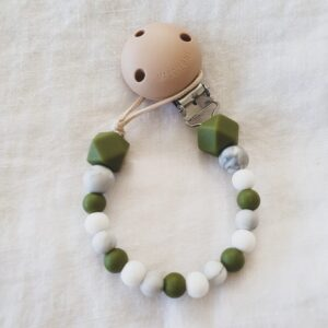 Hex Marble Mix Dummy Chain - Army Green
