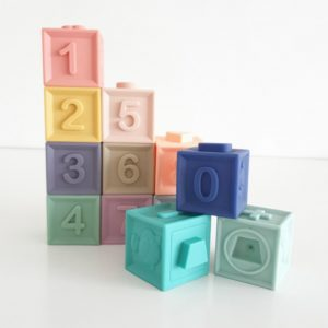 Soft Interlocking Silicone Blocks