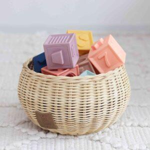 Soft Interlocking Blocks