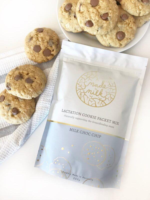Made to Milk - Milk Choc Chip Cookie Packet Mix