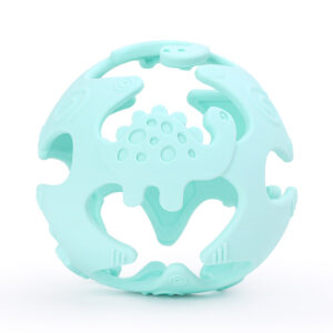 Dinosaur Teething Ball - Mint