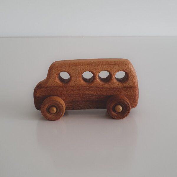 Windy Hill Adventures Wooden Bus