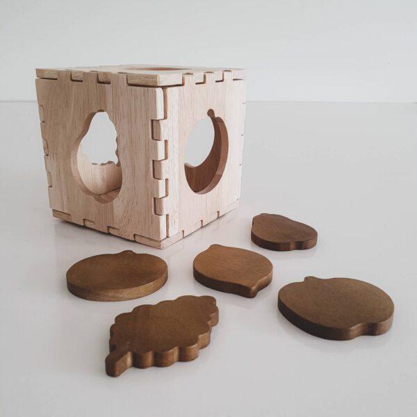 Fruit Puzzle Box - Qtoys