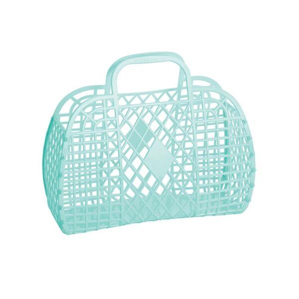 Sun Jellies Basket Small - Mint