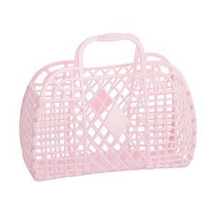 Sun Jellies Basket Small - Pastel Pink