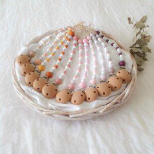 Round Marble Mix Dummy Chains