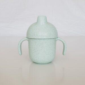 Wheat Fibre Sippy Cup - Sage