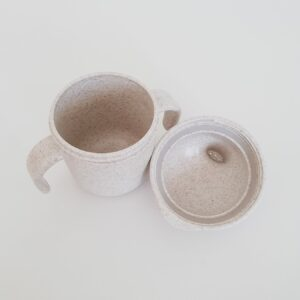 Wheat Fibre Sippy Cup - Oatmeal