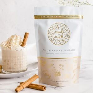 Deluxe Creamy Chai Latte - Made To Milk Lactation Drink