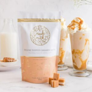 Deluxe Toffee Caramel Latte - Made To Milk Lactation Drink