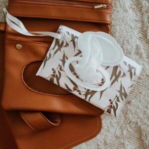 Milky & Poppy Andi Tan Nappy Wallet