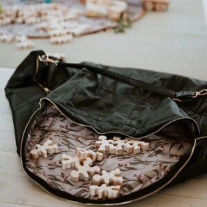 Milky & Poppy Parker Black Play Bag