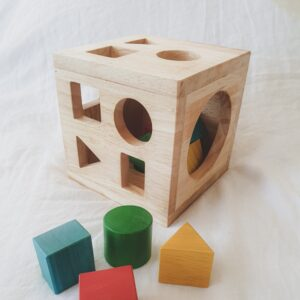 Qtoys - Post Box - Wooden Shape Sorter