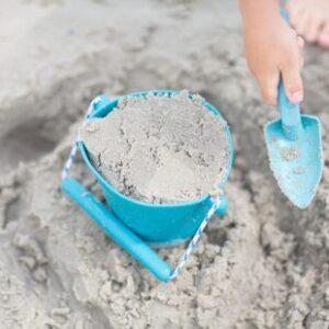 Scrunch Bucket and Spade in Petrol