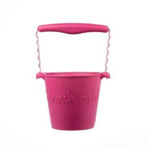 Scrunch Bucket - Cherry Pink