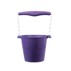 Scrunch Bucket - Dark Purple