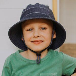 Bedhead Kids Bucket Sun Hat - Denim