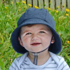 Bedhead Toddlers Bucket Sun Hat - Denim