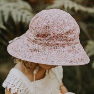 Bedheads Girls Reversible Sun Hat - Florence / Flax