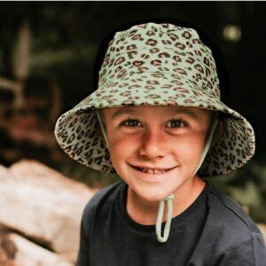 Bedhead Kids Bucket Sun Hat - Leopard
