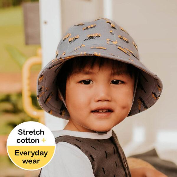 Bedhead Toddlers Bucket Sun Hat - Machinery
