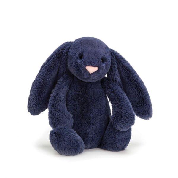 Jellycat Bashful Navy Bunny - Small