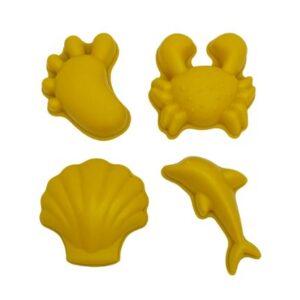 Scrunch Sand Moulds - Mustard