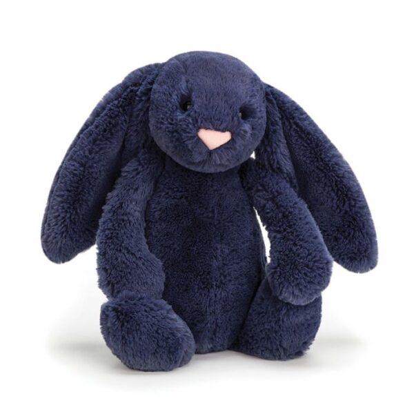 Jellycat Bashful Navy Bunny - Medium