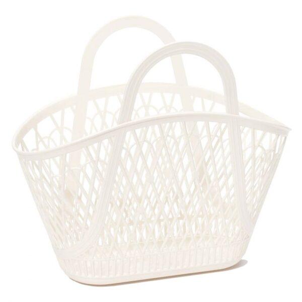 Sun Jellies Betty Basket - Cream