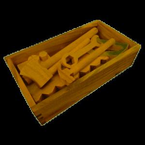QToys - Wooden Toolbox Set