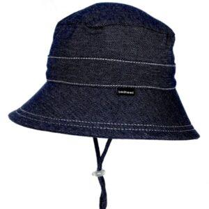 Bedhead Kids Bucket Sun Hat - Denim Hat - Denim