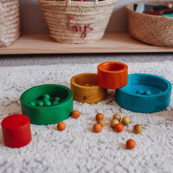 QToys - Nesting & Stacking Bowls
