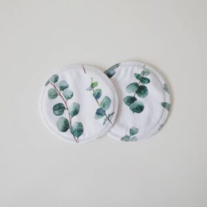 Biggy & Lou Bamboo Breast Pads - Eucalyptus