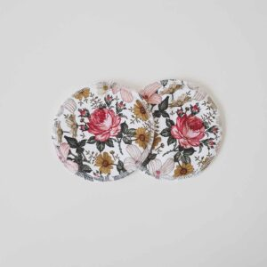 Biggy & Lou Bamboo Breast Pads - Pink Floral