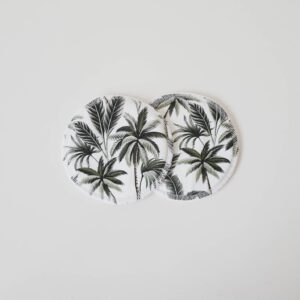 Biggy & Lou Bamboo Breast Pads - Palm Leaves