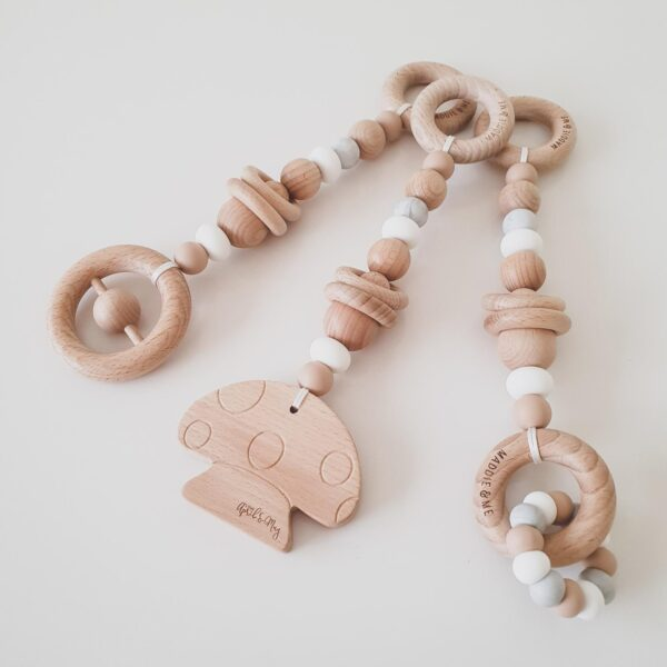 Mushroom Beechwood Playgym Toys